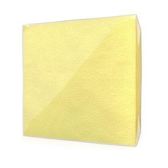 Салфетки Радуга 24x24 см 1 слой желтые (50 шт.)