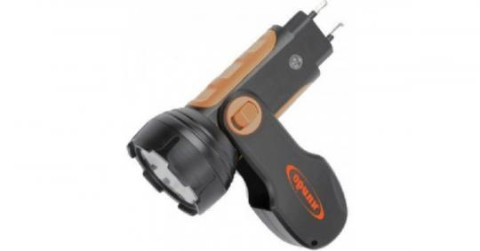Фонарь светодиодный аккумуляторный Облик 201 1 св. с вилкой для зарядки