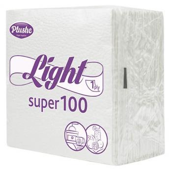 Салфетки Plushe Light белые/пастель (90 шт.)