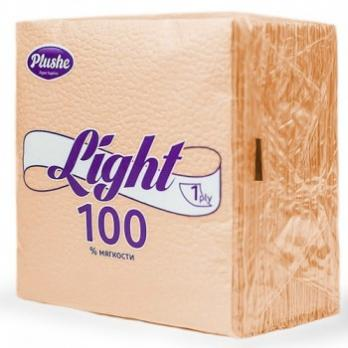 Салфетки Plushe Light шампань (90 шт.)