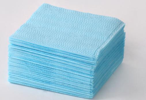Салфетка Радуга 24x24 см 1сл. голубые (50 шт.)