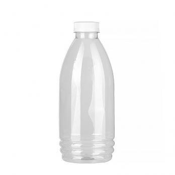 Одноразовая бутылка 1,0 л с широким горлом и крышкой (1 шт.)