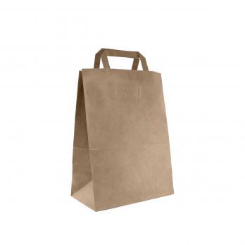 Пакет с петлевой ручкой КРАФТ бумажный 28x38 см (1 шт.)