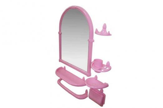Набор для ванной комнаты с зеркалом Олимп РП-861