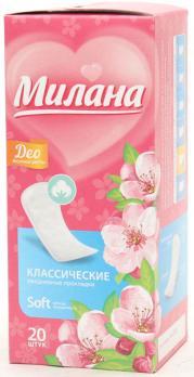 Прокладки Милана deo soft весенние цветы (20 шт.)
