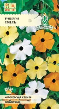 Семена Цветы Тунбергия смесь (Евро)