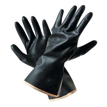 Перчатки латексные АЗРИ кислотощелочностойкие (1 пара)