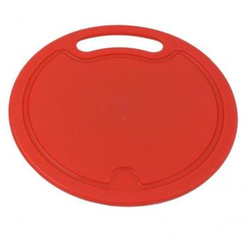 Доска разделочная пластиковая круглая большая IS10007-35