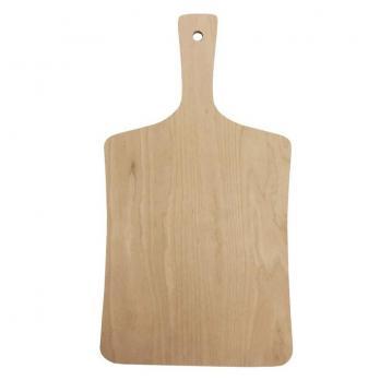 Доска разделочная деревянная 360x190x6 мм береза