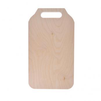 Доска разделочная деревянная 297x160x6 мм береза