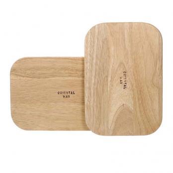Доска деревянная набор прямоугольная (2 шт.)