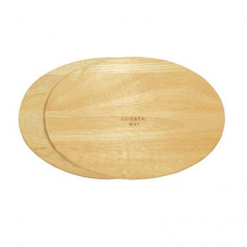 Доска деревянная набор овальная (2 шт.)