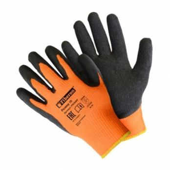 Перчатки акриловые утепленные с латексным вспененным покрытием XL (1 пара)