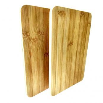Доска деревянная набор прямоугольная 230x150x10 мм (2 шт.)