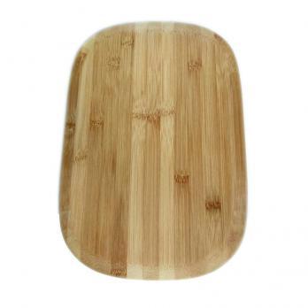 Доска разделочная деревянная 350x240x10 мм гевея
