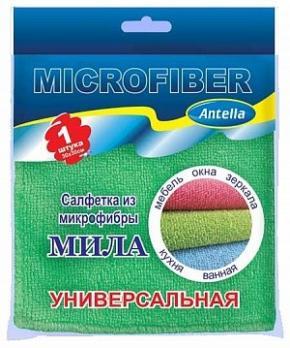 Салфетка универсальная микрофибра Мила 30x30 см (1 шт.)