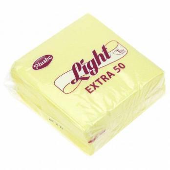 Салфетки Plushe Light желтые (40 шт.)