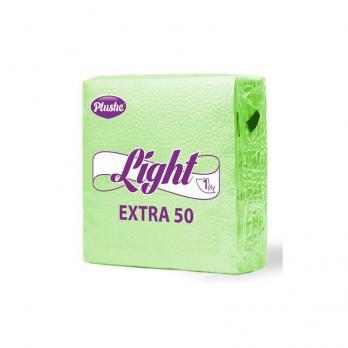 Салфетки Plushe Light салатовые (40 шт.)