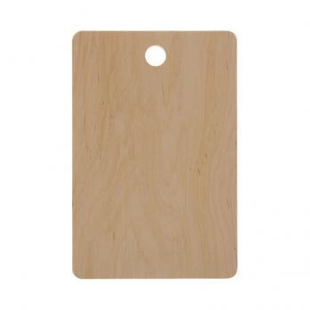 Доска разделочная деревянная 350x220x14 мм береза