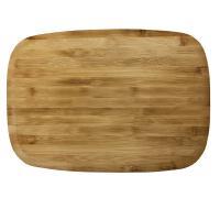 Доска разделочная деревянная 400x280x10 мм гевея