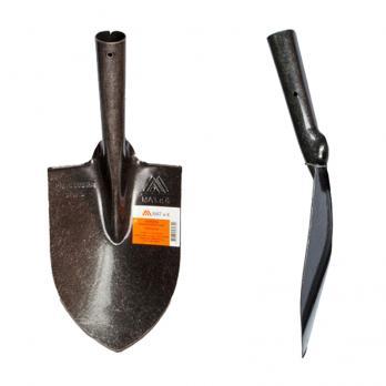 Лопата штыковая дамская из рельсовой стали