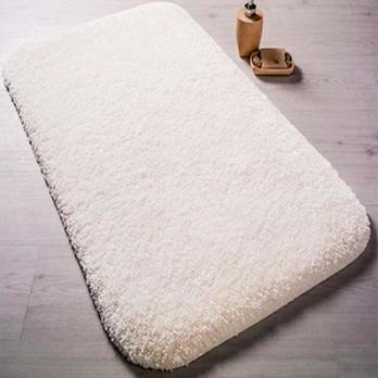 Коврик 57x100 см Confetti miami белый