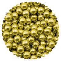 Посыпка для кулича шарики сахарные серебро/золото 5 мм 30 г