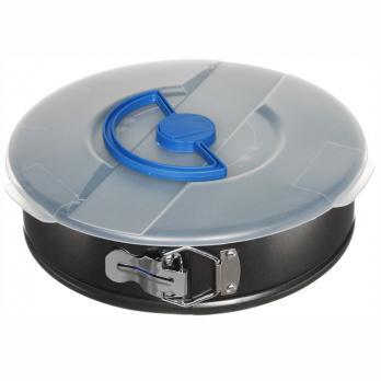 Форма для выпечки разъемная 26x7 см с крышкой углеродистая сталь, антипригарное покрытие Easy