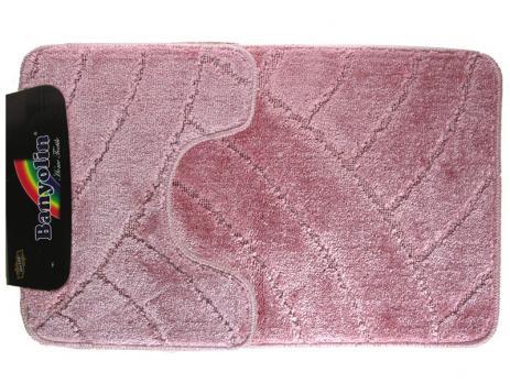 Коврик 50x80 см Banyolin classic розовый