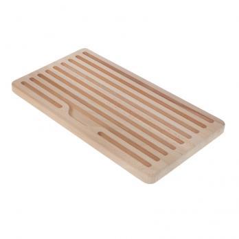 Доска разделочная деревянная для хлеба 350x200 мм бук
