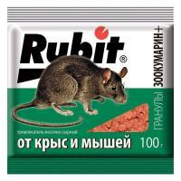 Средство Рубит Зоокумарин-У гранулы (100 г)