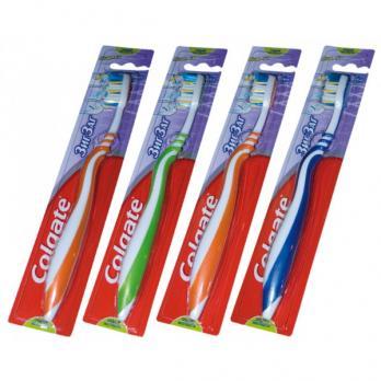 Зубная щётка Colgate зигзаг плюс средней жесткости