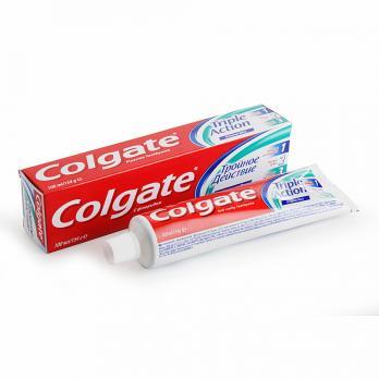 Зубная паста Colgate тройное действие (100 мл)