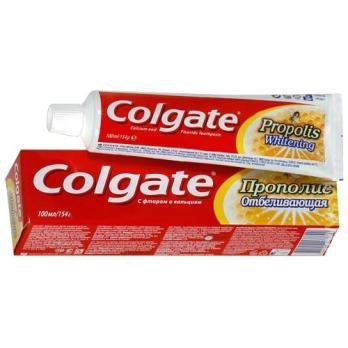 Зубная паста Colgate прополис отбеливающая (100 мл)