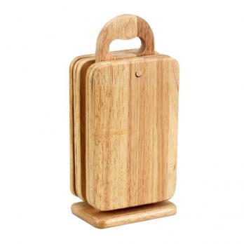 Доска деревянная набор для завтрака (5 шт.)