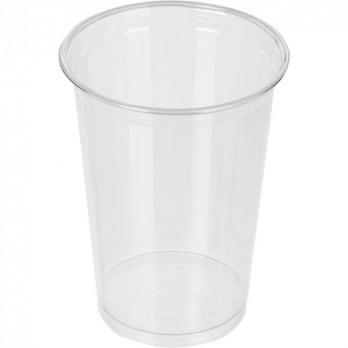 Одноразовый стакан 500 мл прозрачный (10шт.)