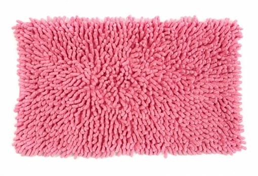 Коврик Люкс (микрофибра) розовый