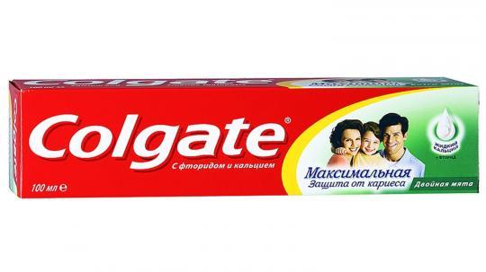Зубная паста Colgate максимальная защита двойная мята (100 мл)
