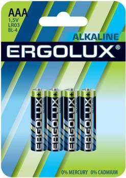 Батарейка AAA Ergolux LR03 (1 шт.)