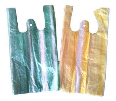 Пакет майка 20+12x45 см цветной (100 шт.)