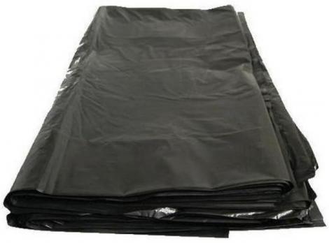 Мешки для мусора 240 л 90x140 см ПВД 50 мкм черный (1 шт.)