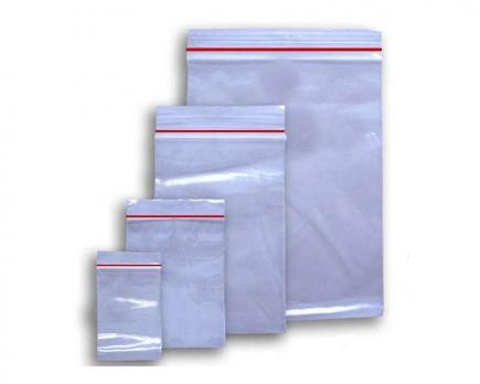 Пакет с замком (гриппер/зиплок) (150x200), (150x220) мм 40 мкм (10 шт.)