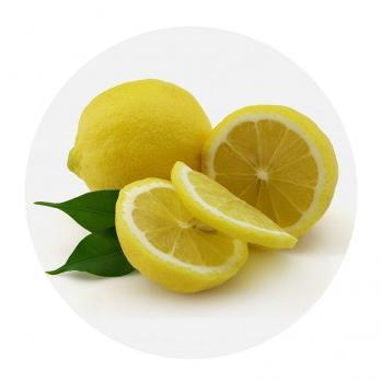 Доска разделочная стеклянная d=200 мм Лимон