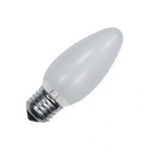 Лампа накаливания E27 свеча ДСМТ 60W матовая