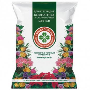 Почвогрунт Скорая помощь Комнатные цветы (5 л)