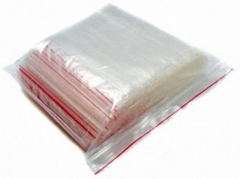 Пакет с замком (гриппер/зиплок) 100x100 мм 40мкм (100 шт.)