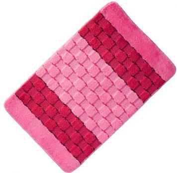 Коврик 40x60 см Banyolin silver розовый