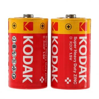 Батарейка R20 Kodak (1 шт.)
