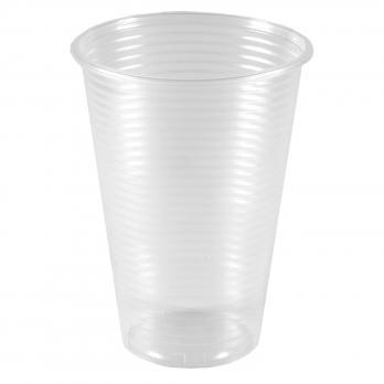 Одноразовый стакан 200 мл прозрачный (10шт.)