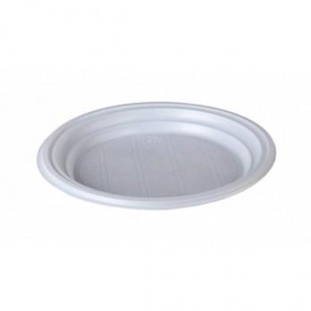 Одноразовая тарелка десертная d=170 мм (1 шт.)
